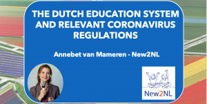 Webinar: The Dutch education system and relevant coronavirus regulations