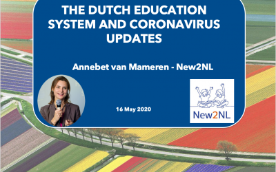 Webinar: The Dutch education system and coronavirus updates