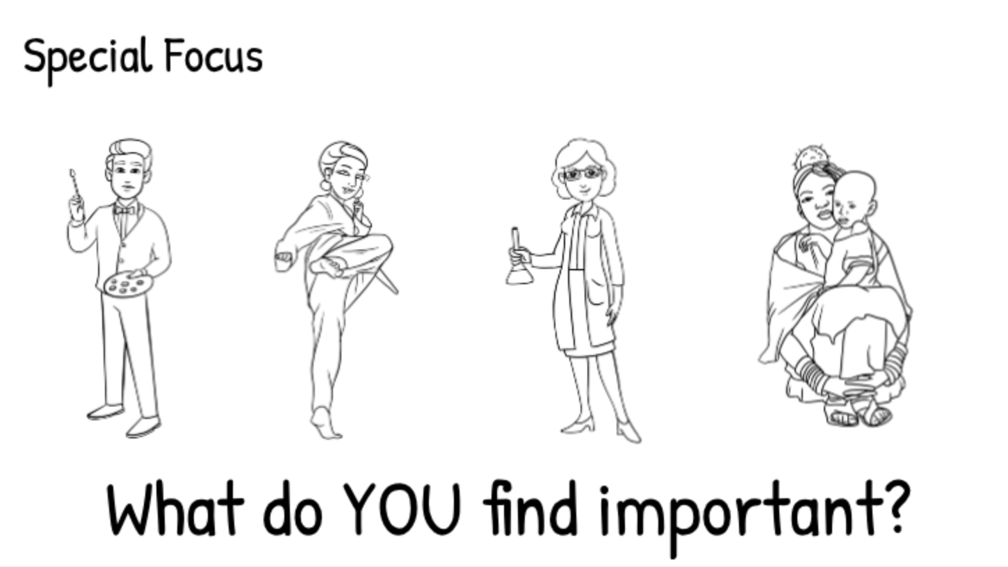 What do you find important in a school?