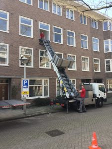 Moving to a new house in Amsterdam